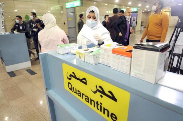 تسجيل 54 إصابة جديدة بفيروس (كورونا) في مصر ووفاة حالة واحدة