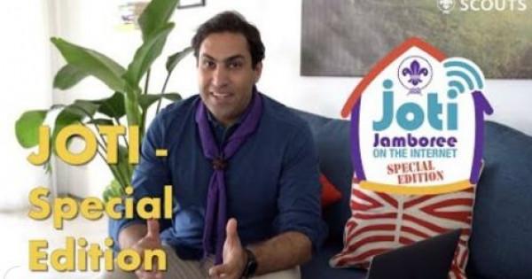 """الهنداوي يدعو للمشاركة في المخيم الكشفي العالمي """"جوتي """" عبر الانترنت"""