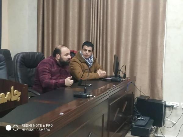 طاقم إعلام الشبيبة الطلابية في محافظة نابلس يقود الإعلام الرسمي