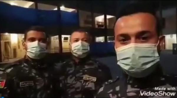 شاهد: رسالة من أفراد الشرطة بغزة للمواطنين غير المحجورين