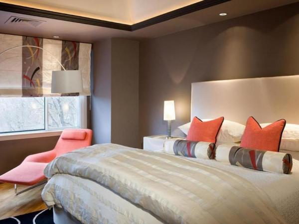 ديكورات غرف نوم بألوان صيفية