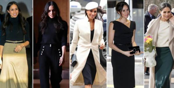 تعرف على الألوان الرسمية الأبرز في خزانة أزياء ميغان ماركل