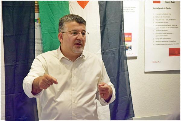 جبارين للسفير الإيطالي: ننقل إليكم تضامن أهلنا وشعبنا