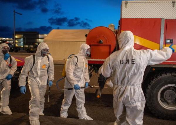 812 حالة وفاة جديدة في إسبانيا بفيروس (كورونا)