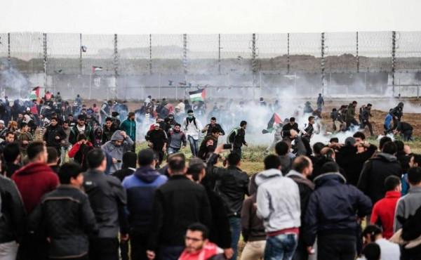 المجتمع المدني يحث على مساءلة وإنهاء الإغلاق الإسرائيلي لقطاع غزة بيوم الأرض