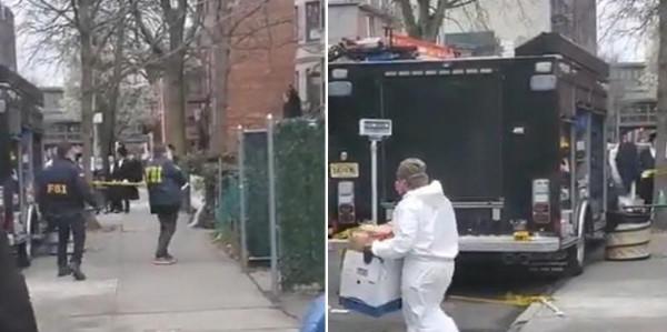 شاهد: مفاجأة لحظة مداهمة معبد يهودي في نيويورك