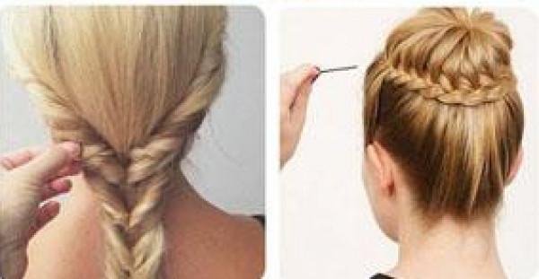 تسريحات شعر بسيطة لا تحتاج إلى مكواة