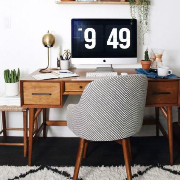 لكسر الملل.. أفكار مختلفة لتجديد ديكور مكتبك بالمنزل