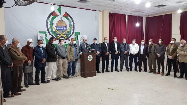 حماس تطلق حملتها الإغاثية بمخيمات لبنان بدعم من رئيس الحركة