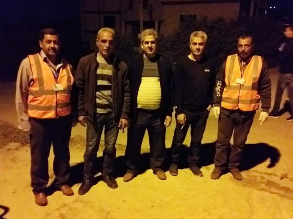 الائتلاف النقابي العمالي في فلسطين يتابع زيارات لجان الطوارئ بعدد من المواقع