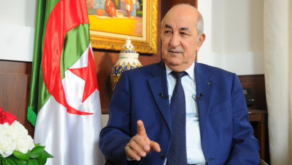 الرئيس الجزائري يتبرع براتبه لمواجهة (كورونا)