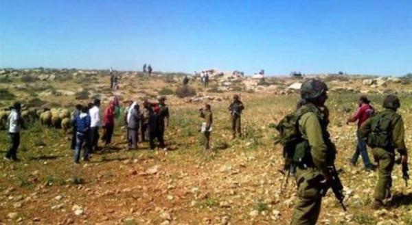 الاحتلال يمنع المزارعين من الوصول لأراضيهم في تقوع