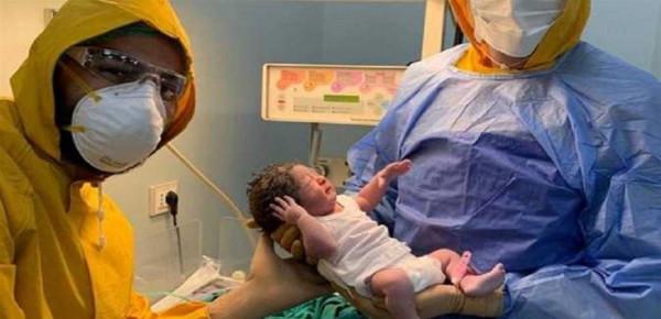 تفاصيل قصة مصابة بكورونا وضعت طفلها باحدى مستشفيات مصر