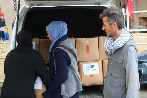 جمعية المواساة تقدم المساعدة للمحتاجين في صيدا