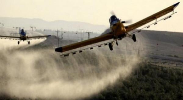 الاحتلال يَرُش مبيدات ضارة شرقي قطاع غزة