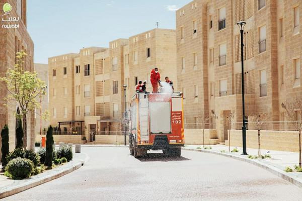الدفاع المدني ينفذ 30 عملية تعقيم و60 جولة سلامة ويستجيب لتسعة حوادث