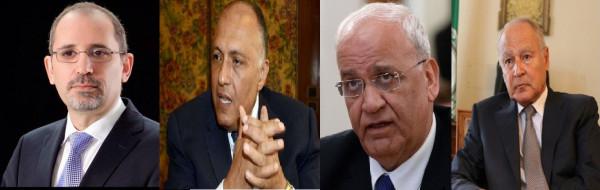 عريقات يَبحث مع أبو الغيط وشكري والصفدي آخر التطورات فلسطينياً وعربياً