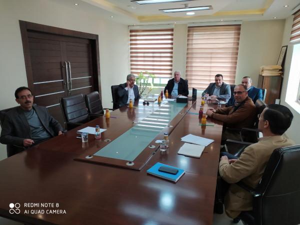 مجلس عمداء جامعة بوليتكنك فلسطين يتابع منظومة التدريس المستجدّة