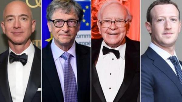 كم بلغت خسائر أثرياء العالم في الربع الأول من عام 2020 ؟