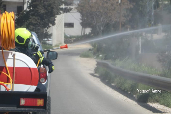 الدفاع المدني يُنفّذ 14عملية تعقيم و60 جولة سلامة ويستجيب لسبعة حوادث