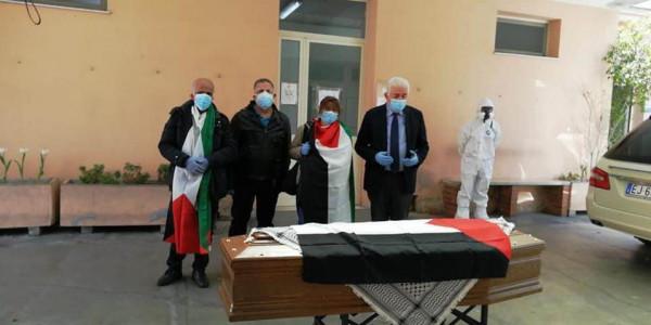 صور: تشييع جثمان الطبيب نبيل خير في ايطاليا بحضور أبناء الجالية