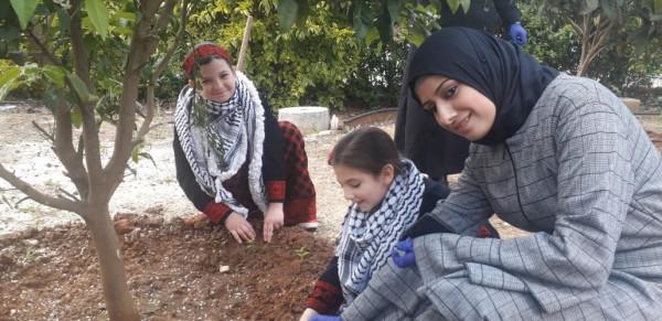 قلقيلية: التربية والزراعة تطلقان مبادرة الحدائق المنزلية الإنتاجية