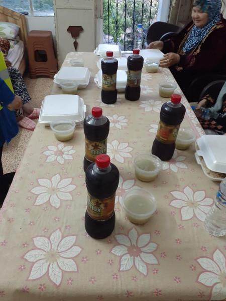 جبهة النضال والشرطة تنظمان إفطاراً رمضانيا لنزلاء بيت الأجداد في دير الغصون