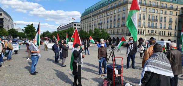 بالصور: المؤسسات والجمعيات الفلسطينية والعربية في برلين تحيي الذكرى 72 للنكبة