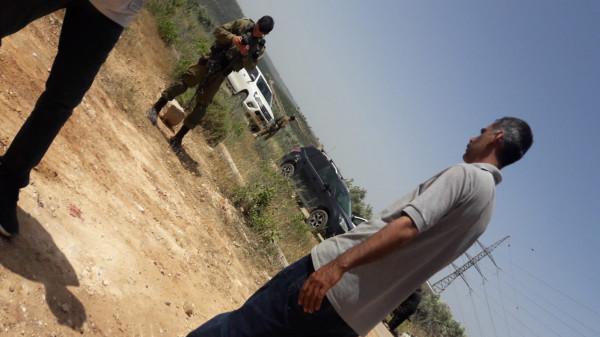 الاحتلال يعتدي على مشاريع الإغاثة الزراعية في قلقيلية