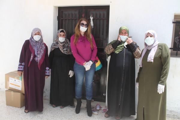 البدء بتنفيذ فعاليات مشروع تعزيز أدوار لجان الحماية النسوية في الخليل