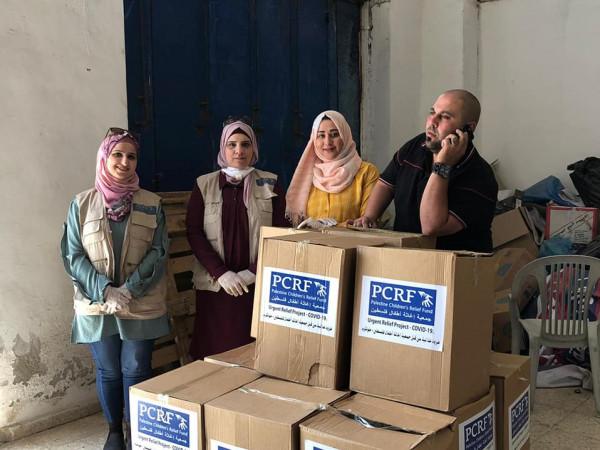 توزيع سلات غذائية رمضانية لـ 100 عائلة محتاجة من محافظة طولكرم