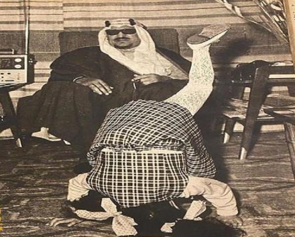 قصة صورة طريفة تجمع الملك سعود بابنته الأميرة نزهة