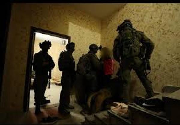 الاحتلال يعتقل خمسة مواطنين من جنين بينهم طفل وأسير محرر