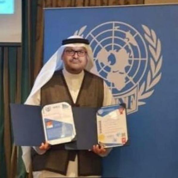 فيدرالية أصدقاء الأمم المتحدة تمنح المستشار علي حسن الدكتوراه الفخرية