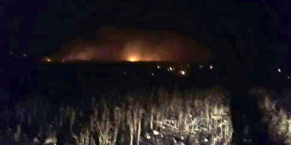 سوريا: فرق الإطفاء تخمد حريقاً طال مئات الدونمات بمحمية طبيعية بالسويداء