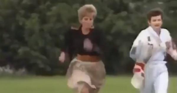 فيديو نادر.. شاهدي كيف كسرت الأميرة ديانا قواعدها الملكية