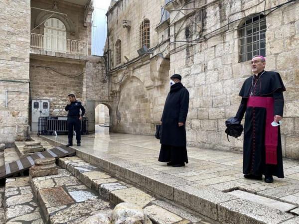 كنيسة القيامة تُعيد فتح أبوابها غداً مع الالتزام بإجراءات السلامة