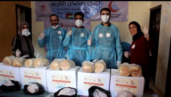 مؤسسة (ايز ارك) من كاليفورنيا تنفذ مبادرة حملة الحنين لكسوة أطفال غزة