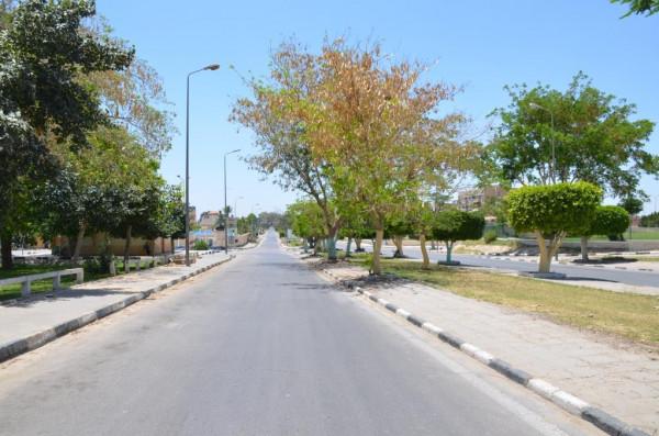 محافظ الاسماعيلية يتفقد الحدائق والمنتزهات والشواطىء فى يوم شم النسيم