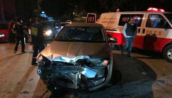 مصرع مواطن 64 عاماً بحادث سير ذاتي في نابلس