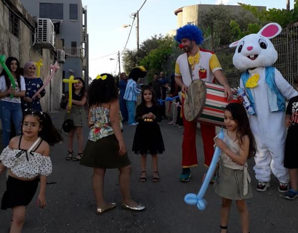 """مسيرة مميزة وموحدة لعيد الفطر المبارك بمبادرة من الجماهيري """"أبو سنان"""""""