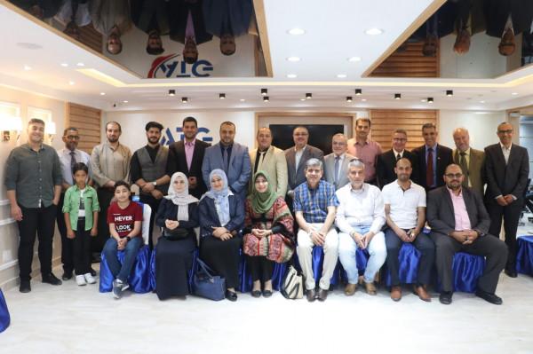 نقابة المدربين الفلسطينيين pta تنظم لقاء معايدة بمناسبة عيد الفطر السعيد