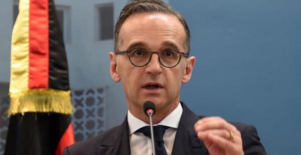 معروف يسلم رسالة إلى وزير خارجية ألمانيا الاتحادية
