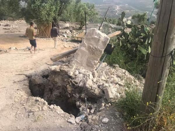 وزارة السياحة والآثار تُدين اعتداء الاحتلال على سبسطية
