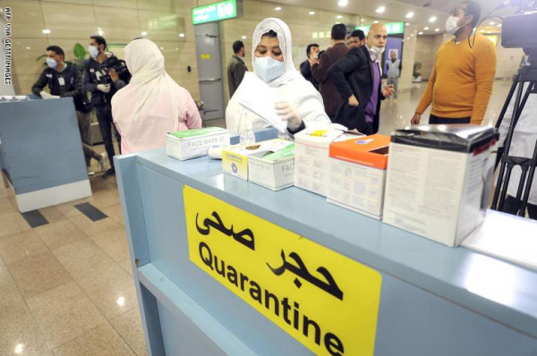 مصر تُسجّل أعلى عدد إصابات فيروس (كورونا) في يوم واحد