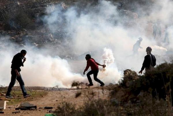 إصابات بينهم صحفي خلال قمع الاحتلال لمسيرة كفر قدوم