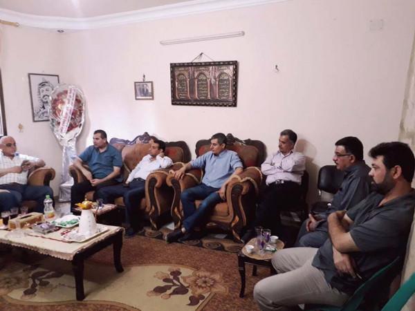 المكاتب الحركية إقليم غرب غزة تهنئ زغبر والغول