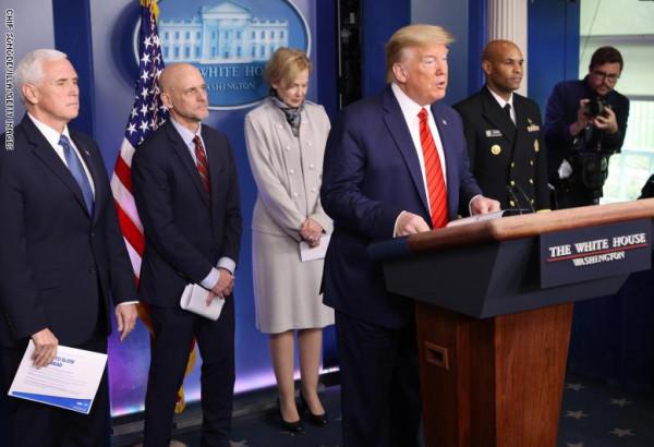 """ترامب يعلن وقف كافة علاقات الولايات المتحدة مع """"الصحة العالمية"""""""