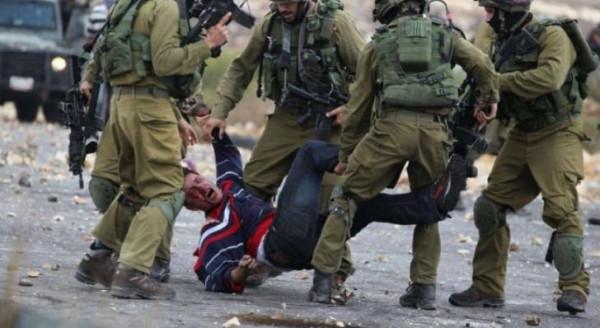 إصابة عامل من عانين بكسور في الساق إثر اعتداء جنود الاحتلال عليه