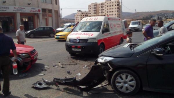 إصابتان في ثلاثة حوادث سير خلال 24 ساعة بقطاع غزة